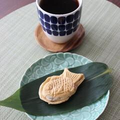 たい焼き/あつあつ/おやつ/こんがり/コーヒー/こんがりグルメ お取り寄せしたたい焼き♬ トースターで焼…