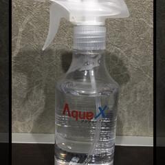 AquaX ペットのお手入れスプレー    AquaX(アクアエックス)(その他ペット用品、生き物)を使ったクチコミ「ノンアルコールなので安心して使えます。 …」(1枚目)