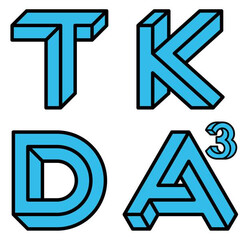 ロゴ/logotype/ロゴマーク TKDaaa