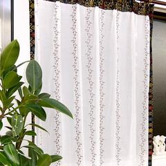 レースカーテン 通販/レースカーテン/レースカーテン おしゃれ/レースカーテン 刺繍/レースカーテン アジアン おしゃれな刺繍レースカーテン アジアン飾…