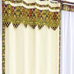カーテン/カーテン 通販/カーテン かわいい/カーテン 北欧/カーテン 遮光/地中海/... 地中海をイメージした、かわいい遮光カーテ…