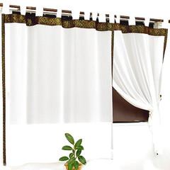 レースカーテン/レースカーテン 通販/バリカーテン レース/突っ張り棒カーテン/天蓋カーテン/間仕切りカーテン おしゃれに決める!バリ レースカーテン …