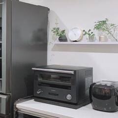 オーブンレンジ BALMUDA The Range K04A | BALMUDA(電子レンジ)を使ったクチコミ「オーブンレンジを買い換えました😊  高機…」(1枚目)