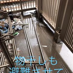 台風の準備は大変だった/障害者の台風避難は大変 19日の台風で被害は無かった のですが我…(2枚目)