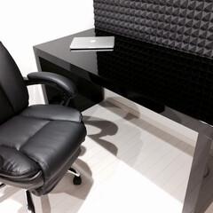 鏡面/黒/モダン/シンプル/インテリア/家具/... 白鏡面に対抗して、黒鏡面の製品もご紹介致…