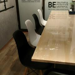 カフェ風/大改造/ワックス/カウンターテーブル/イームズチェア/和室リフォーム/... 和室大改造その5 和室を洋室にリフォーム…(4枚目)