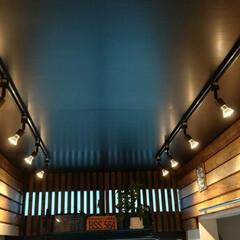 大改造/LED/調光/リフォーム/格子/スポットライト/... 和室大改造その3 和室を洋室にリフォーム…