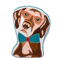クッション/犬/犬雑貨/ペット/アニマル/刺繍/... クッション・レトリバー