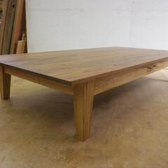 ローテーブル/シンプル シンプルなローテーブルです。かなり大きい…