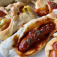 天津飯/パン作り/暮らし 今日は家族皆でパン作り😊 お昼はコレを食…(2枚目)