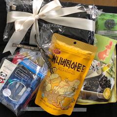 ありがとう/お土産/お揃い/リミ友さん 昨日、お友達からお土産が届きました〜💕 …