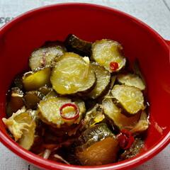 カニカマ/玉ねぎ/茗荷/茄子/ピーマン/人参/... 紫芋をいただいたので、スイートポテトを作…(4枚目)