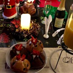 クリスマスパーティー/クリスマス/クリスマスツリー/おうちごはん/グルメ/フード/... 昨日はクリスマスパーティー🎉🎄🎅🥂でした…(3枚目)