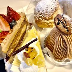 ルピシア/紅茶と一緒に/シュークリーム/モンブランケーキ/シャトレーゼ モンブラン!!マロンちゃんさんのとこで見…