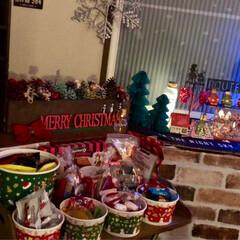 クリスマスパーティー/クリスマス/クリスマスツリー/おうちごはん/グルメ/フード/... 昨日はクリスマスパーティー🎉🎄🎅🥂でした…