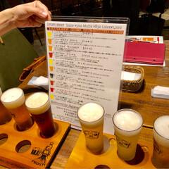 飲み比べ/大阪くらしの今昔館/たこ焼き/至福のひととき/おでかけ/旅行/... 大阪に土日で行って来ました〜☺️  ☆1…(1枚目)