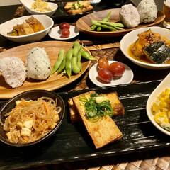 ホットケーキ/和食/暮らし ①昨日の夜はThe!和食なメニュー😋 カ…