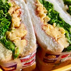 タピオカミルクティー/家庭菜園/角煮まんじゅう/サンドイッチ/おうちごはんクラブ 今週末の朝はこんな感じ☺️😋 久しぶりに…