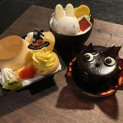 ポテサラとかぼちゃ/シャトレーゼ/サラダ/生春巻き/カレー/halloween/... 昨日は娘の友達がご飯を食べに来てました☺…(4枚目)