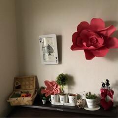 模様替え/ハンドメイド/DIY/雑貨/インテリア/家具/... お久しぶりでございます☺️ 模様替えしつ…(8枚目)