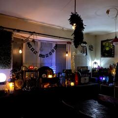 ライトアップ/Halloween飾り/HALLOWEEN雑貨/雑貨/DIY/インテリア/... Halloween☺️ナイトバージョン第…