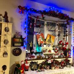 クリスマス雑貨/手芸/インテリア/DIY/雑貨/住まい/... バージョンアップしました⤴️ 出窓これで…