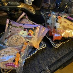 ポテサラとかぼちゃ/シャトレーゼ/サラダ/生春巻き/カレー/halloween/... 昨日は娘の友達がご飯を食べに来てました☺…(5枚目)