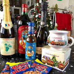 ベビーハイチェア/ワイン/プレゼント/ラッピング/カルディ/クリスマス/... 来週末に姪っ子達が来てクリスマスパーティ…