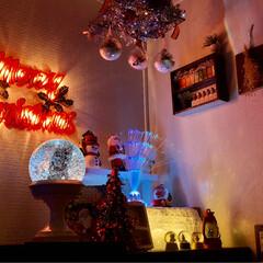 クリスマスツリー/クリスマスインテリア/模様替え/キッチン雑貨/雑貨/ハンドメイド/... 🎄模様替え中😆 1部分ですが3日たって今…