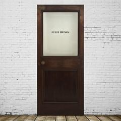 アンティークドア/扉/建具/玄関扉 英国アンティークドア「Mr.brown」