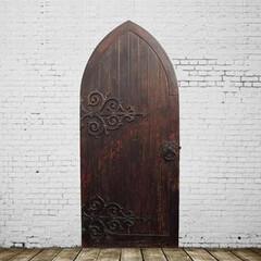 アンティークドア/扉/建具/玄関扉 英国アンティーク「チャーチドア」