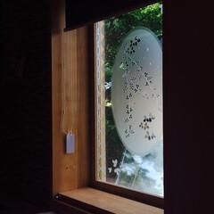 硝子/タペストリー/窓 光を取り込むのを目的とした嵌め込み硝子。…