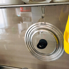 カインズホーム/キッチン雑貨/キッチン シルバーの無機質な感じが 好き💕 高価で…(2枚目)