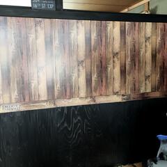 壁製作/セルフリノベーション/和室改造再開/DIY/100均/ダイソー/... ご心配をおかけしましたが、体調ほぼ元に戻…