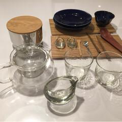 食器/雑貨/作家もの/ニトリ/キッチン雑貨/住まい/... 色んな素材の名脇役  吹きガラスのグラス…