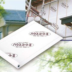 ハウスラップ/タイベック/透湿防水シート/ラミテクト/ツユガード ハウスコートⅡ(JISA6111:200…