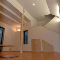 建築/建築家/和風/和風住宅/住まい/リビング/... A邸 リビング