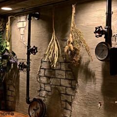 フェイクグリーン/植物が映えるものを作り隊/ドライフラワーのある暮らし/配管萌え/パテ造形/フォロー大歓迎/... 汚しエイジング前(*≧艸≦)(1枚目)