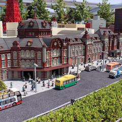 ジオラマ/レゴランド/雨季ウキフォト投稿キャンペーン/令和の一枚/フォロー大歓迎 レゴランドのジオラマ東京駅 これ全部レゴ…