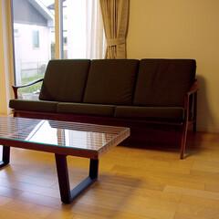 不動産・住宅/Chair/Table/nordoソファ/ネルソンベンチ ネルソンベンチとnordoソファの組合…