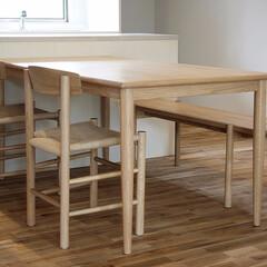 不動産・住宅/CHIAR/Table/シェーカーチェア/nordoダイニングテーブル/ダイニングテーブル シェーカーチェアとミニマルデザインの…(1枚目)