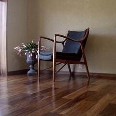 不動産・住宅/LOUNGECHAIR/45イージーチェア 世界で最も美しいアームを持つチェアと評さ…