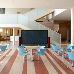 公共/Chair/Table/セブンチェア 鮮やかなブルーカラーのSプライウット…
