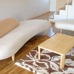 不動産・住宅/SOFA/Table/フリーホームソファ 存在感抜群なのにちょっとしたスペースに…