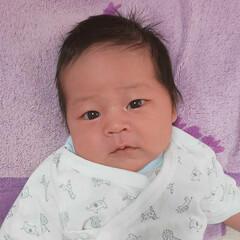 赤ちゃんのいる生活 スッキリのお顔です✨😊💕