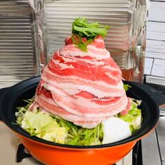 肉/鍋 大泉洋さんのCMのマネしてお鍋🍲✨  美…