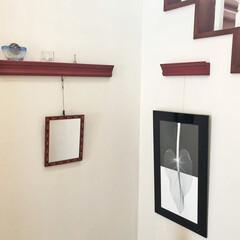 小物飾り/ピクチャーレール/写真/絵/ウォールデコ/壁飾り/... 絵や写真を吊るして飾るピクチャーレール。…
