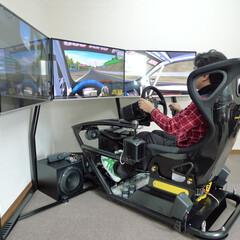 娯楽機器/シミュレーター/シュミレーター/ドライビング/レース/ゲーム/... バケットシートタイプのGT系 のレーシン…