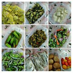 作り置きおかず/おうちごはん   こんにちは(*^^*)  今週の惣菜…(1枚目)