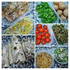 おうちご飯/作り置きおかず/お惣菜  こんにちは(*^^*)  昨日に作りま…(1枚目)